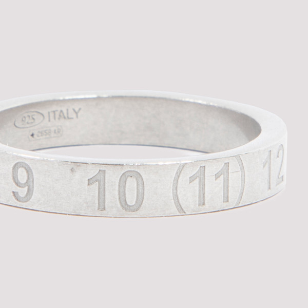 Maison Margiela Silver Number Ring