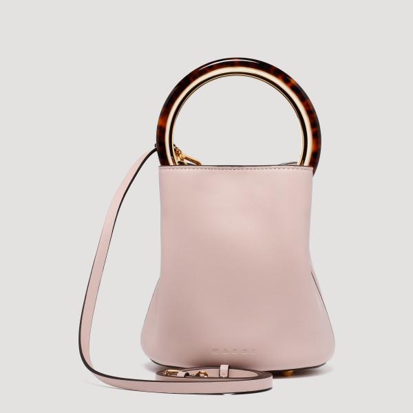 Pannier pink small bucket bag