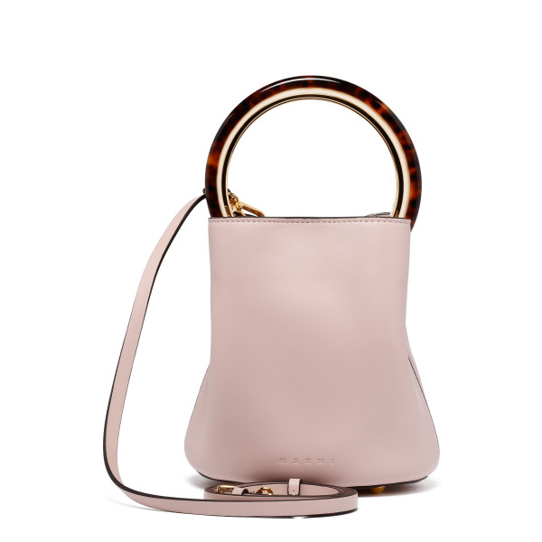 Pannier pink small bucket bag