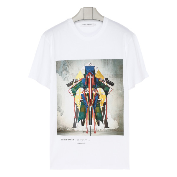 White cotton Talisman T-shirt