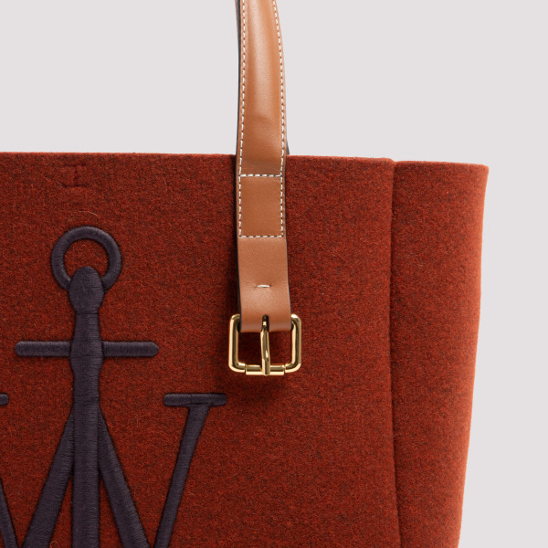 JW Anderson Felt and Leather Belt Tote
