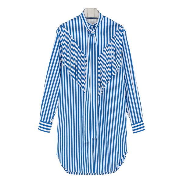 Striped Chemisier dress