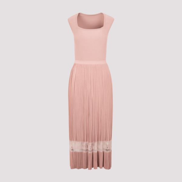 Alaïa Viscose Long Dress