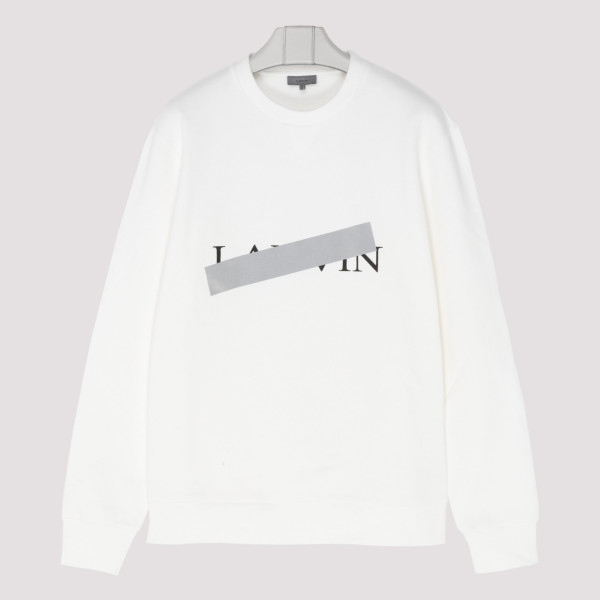 Logo cotton jersey sweatshirt