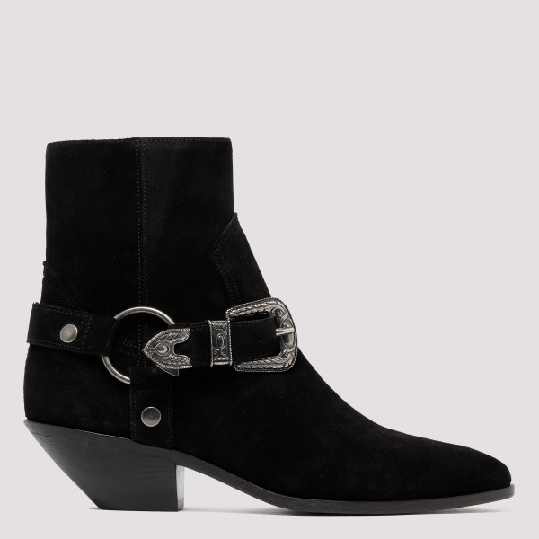 Black West Harness booties