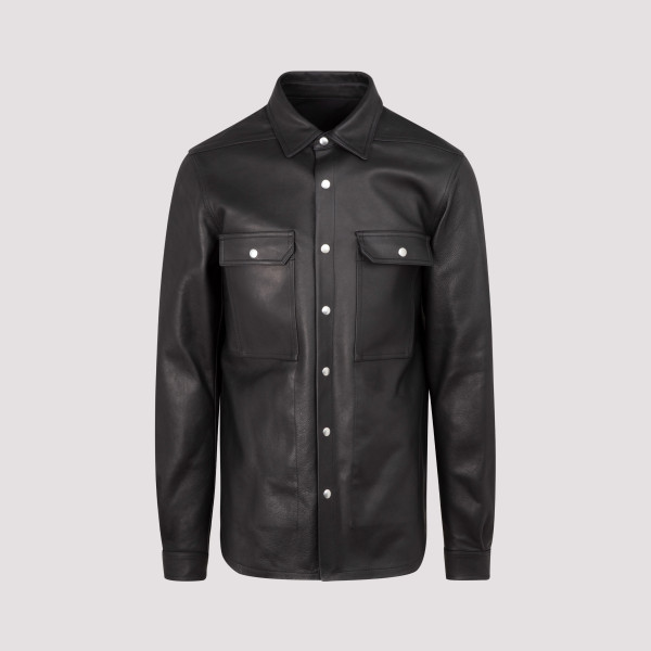 Rick Owens Leather Outershirt