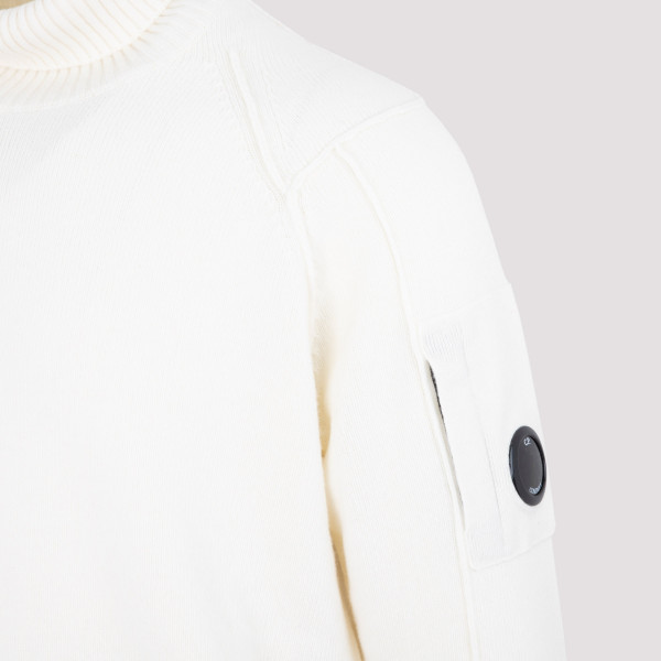 CP Company Lambswool Roll Neck Knit Sweater