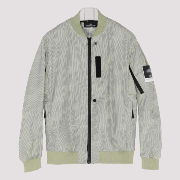 Pastel green bomber jacket