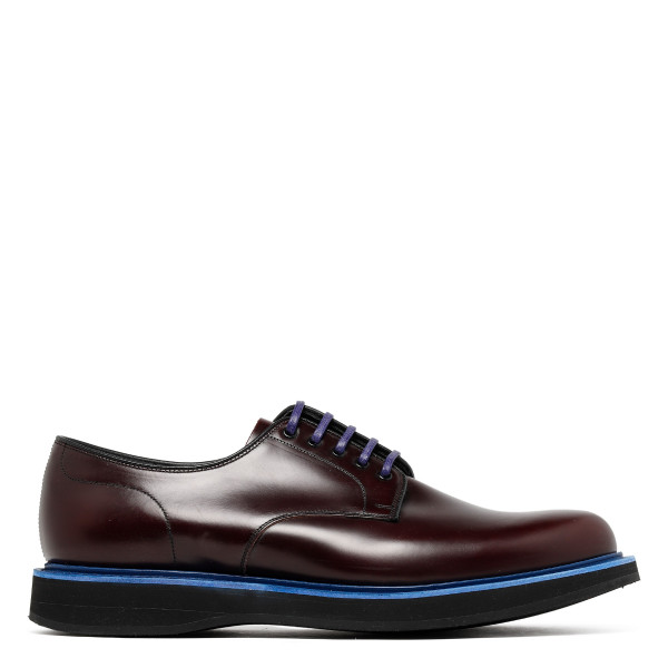 Dark brown Lancaster Oxford shoes
