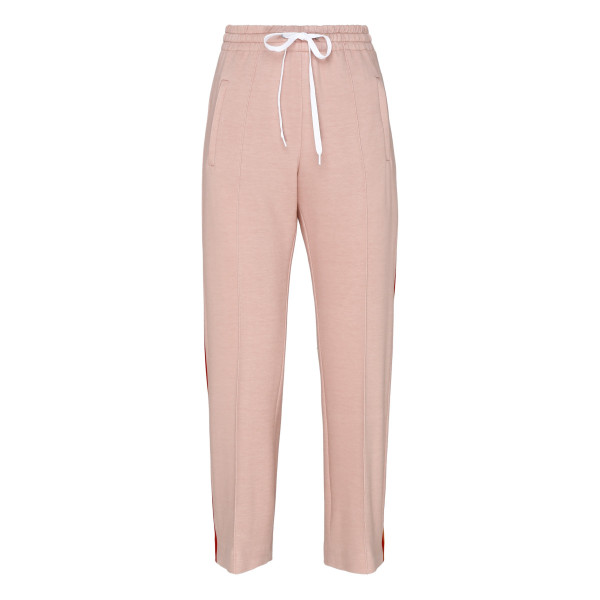 Pink elasticated sporty pants