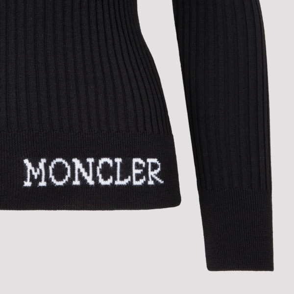 Moncler Wool T Neck Sweater