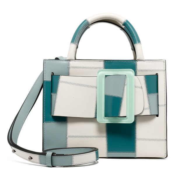 Bobby 23 leather patchwork handbag