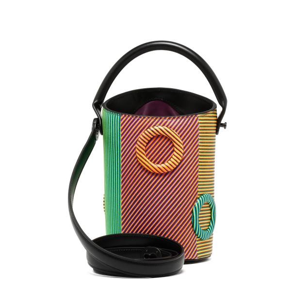 Umar 13 candied corduroy handbag
