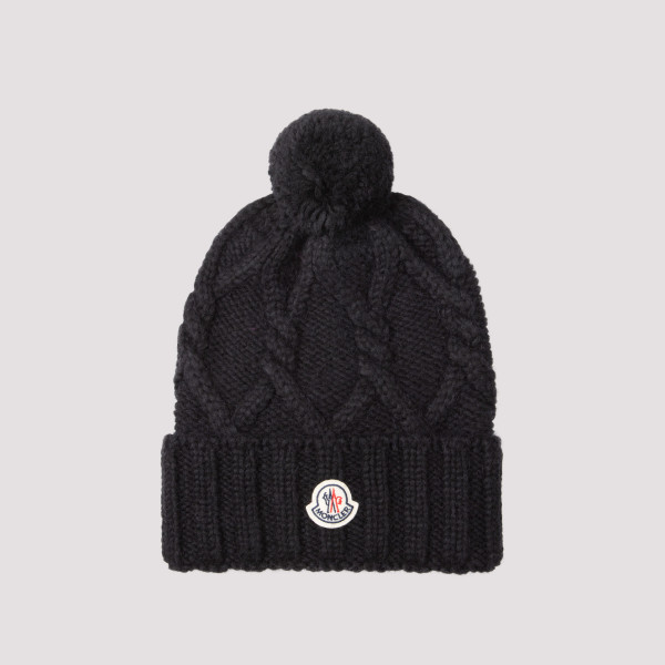 Moncler Alpaca and Wool Hat