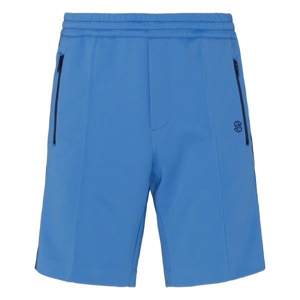 Piet blue track shorts