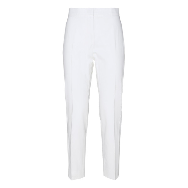 Papy white stretch cotton pants