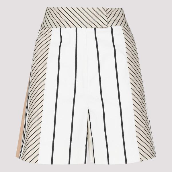 Striped sporty pants