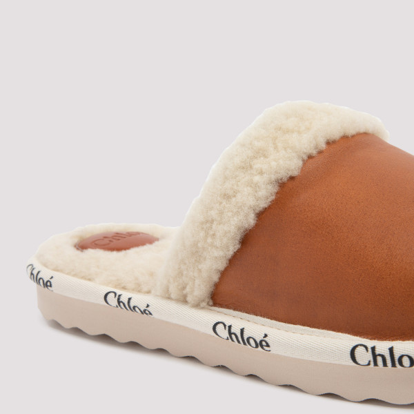 Chloé Leather Slippers