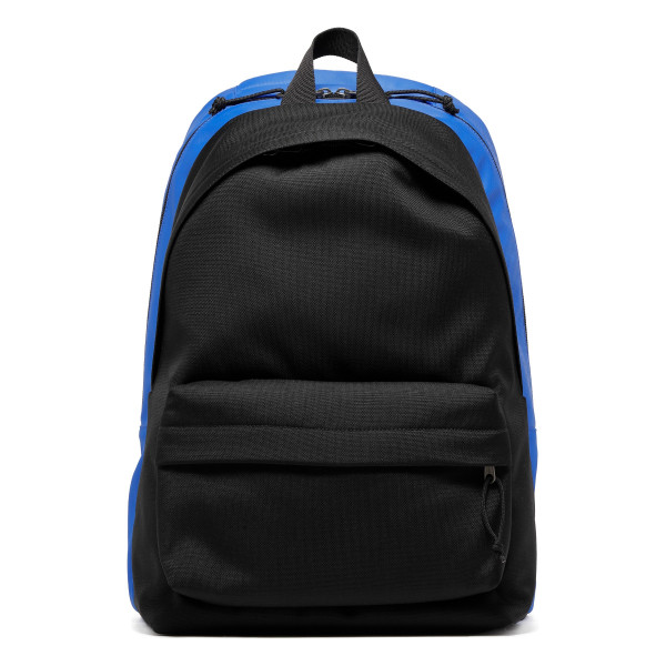 Black and blue explorer backpack