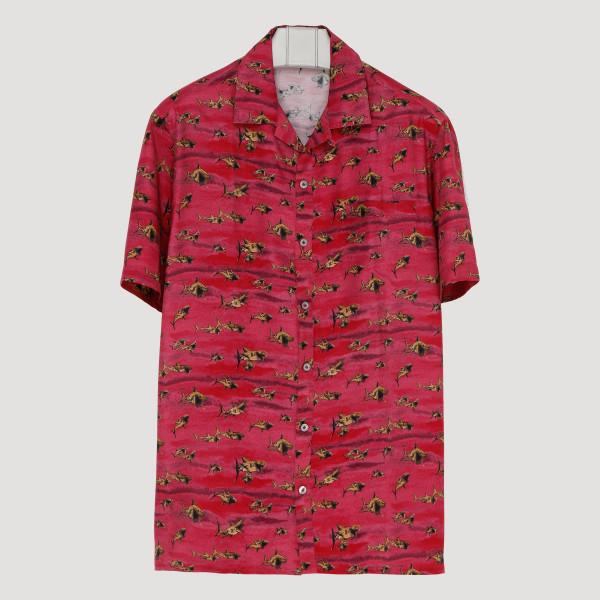Red Shark shirt