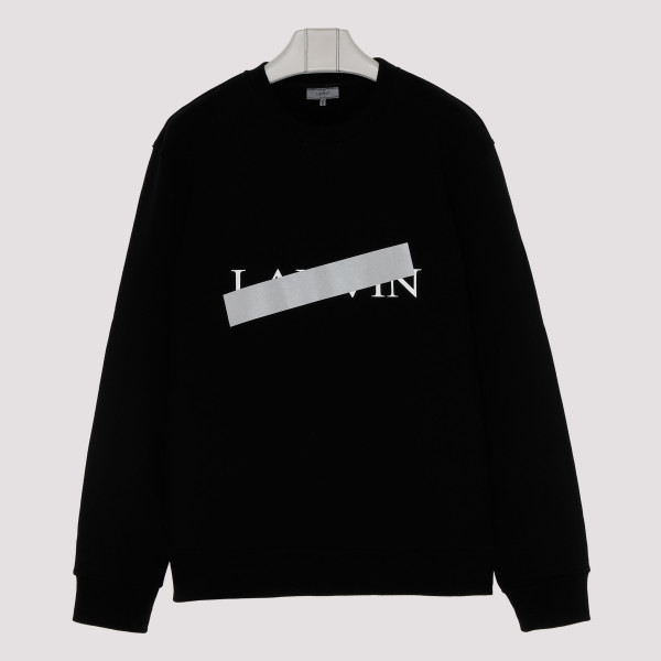 Black logo sweatshirt