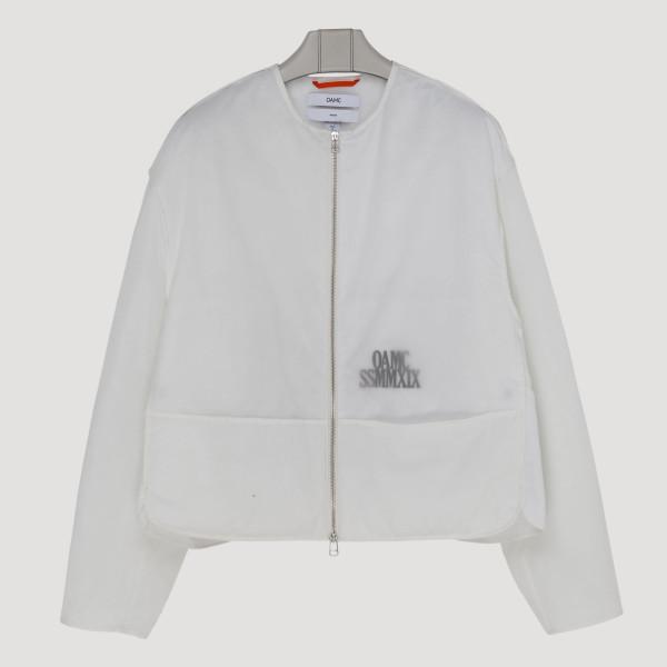 White double nylon jacket...