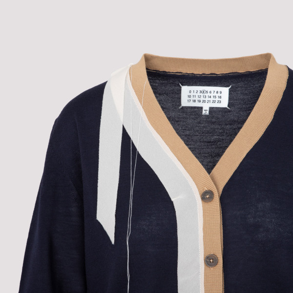 Maison Margiela Wool and Cotton Pullover