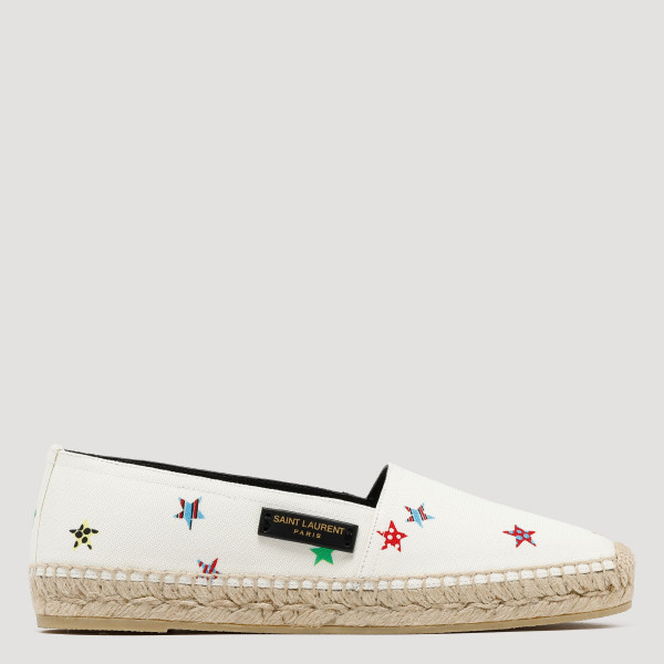 Fun star canvas espadrilles