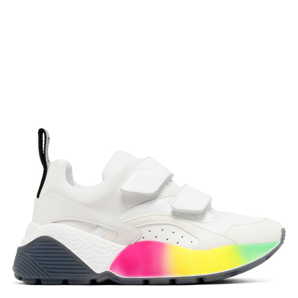 Eclypse velcro sneakers with rainbow sole
