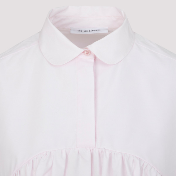 Cecilie Bahnsen Jasmine Blouse With Puff Sleeves