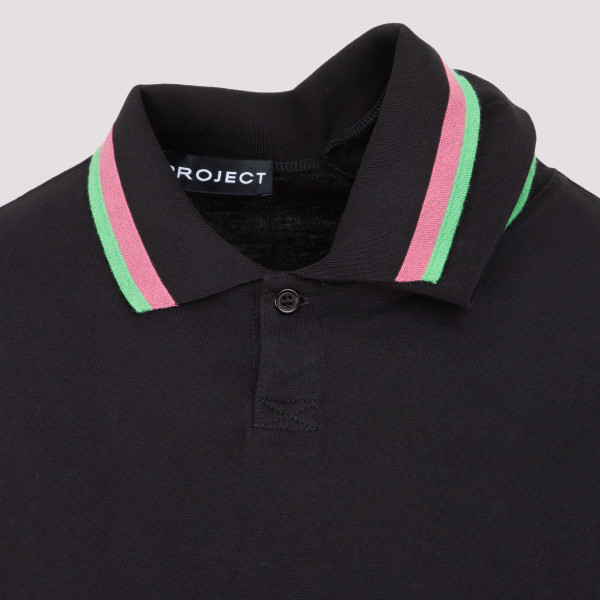 Y/Project Three Neck Long Sleeve Polo