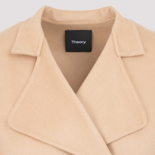 Theory Wool Belted Coat