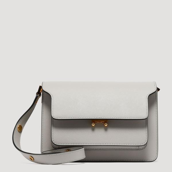 Trunk off-white shoulder bag