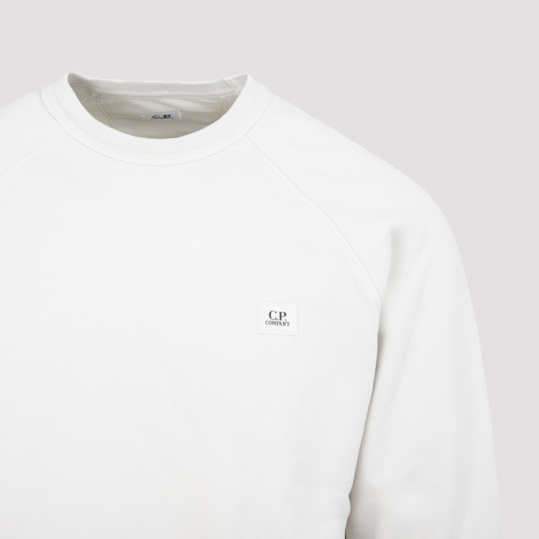 CP Company Garment Dyed Brushed Cotton Sweatshirt