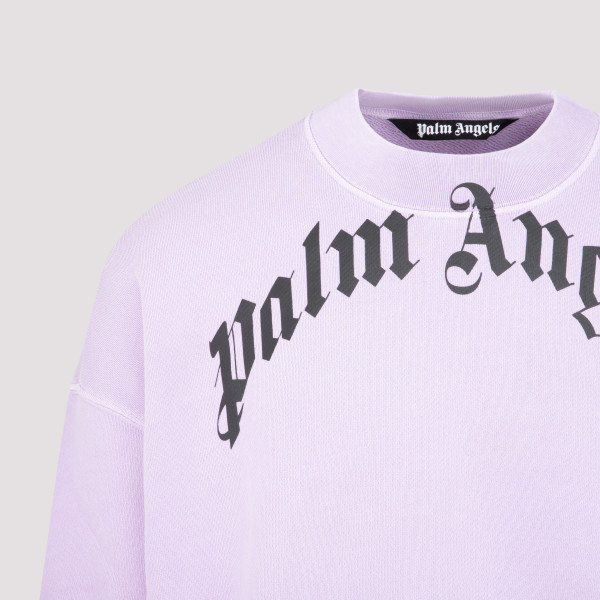 Palm Angels Curved Logo Sweater