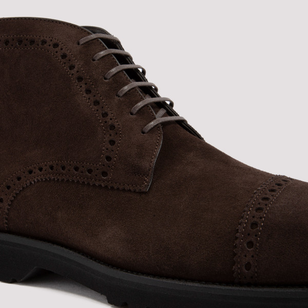 Tom Ford Suede Lace-up Shoes