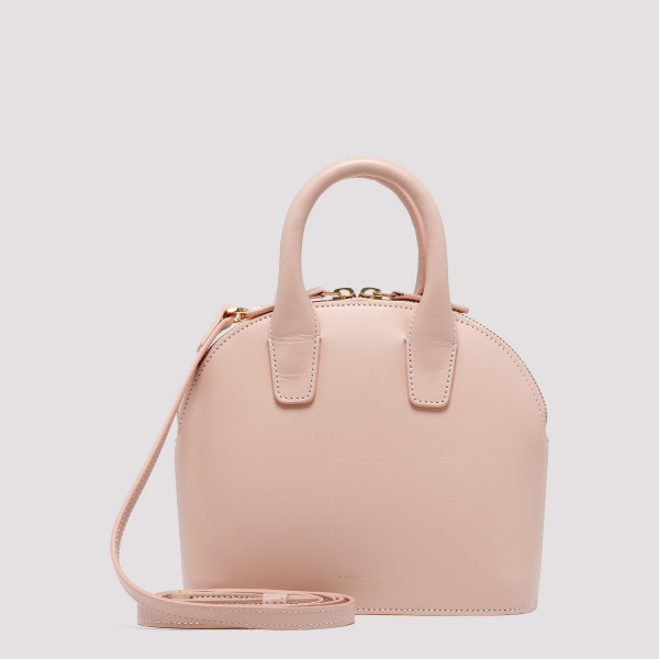 Pink mini top handle bag