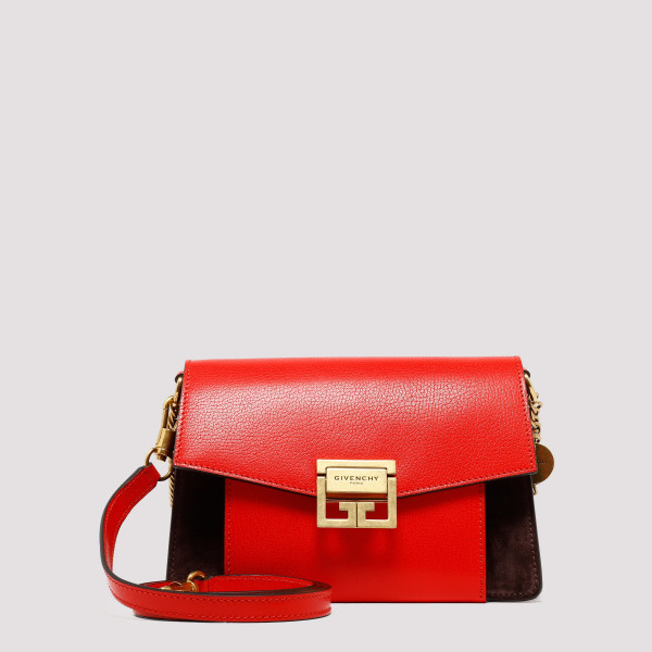 GV3 small bag in red and brown