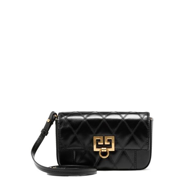 Black mini pocket bag