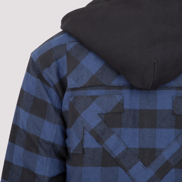 Off-White Arrow Padded Flannel Shirt