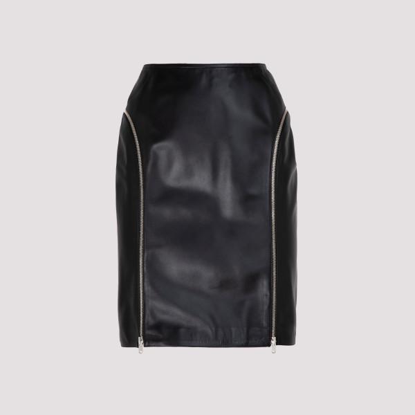 Alaïa Leather Skirt
