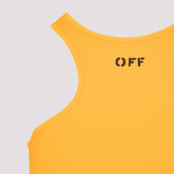Off-White Basic Rowing Top