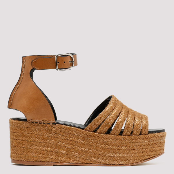 Wedge cord sandals