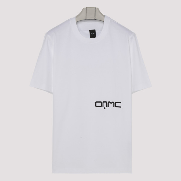 White cotton logo T-shirt