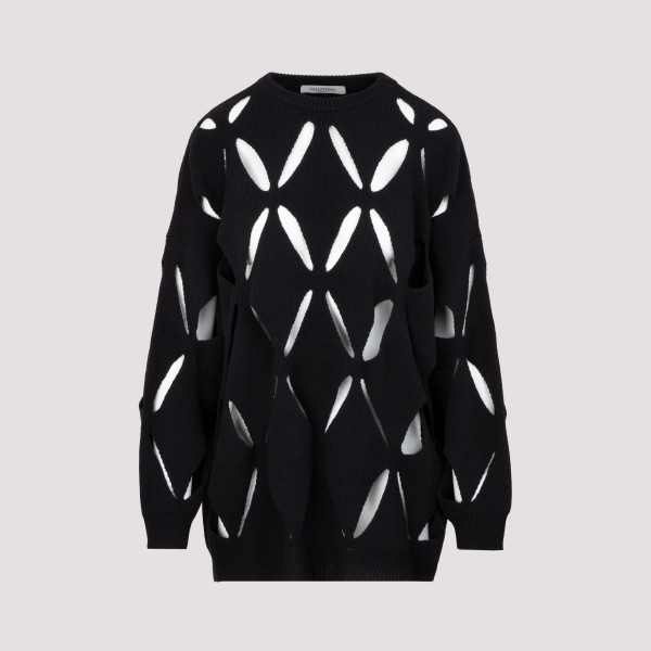 Valentino Perforated Knit...