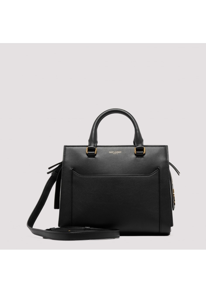 db6bf8cb59 Black smooth leather East side small bag
