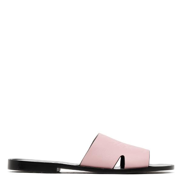 Light pink Anagram flats