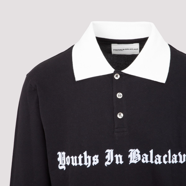 Youths In Balaclava Contrast Polo Shirt