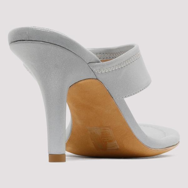 a609b6f6a905 Gray Thong Heel Sandals