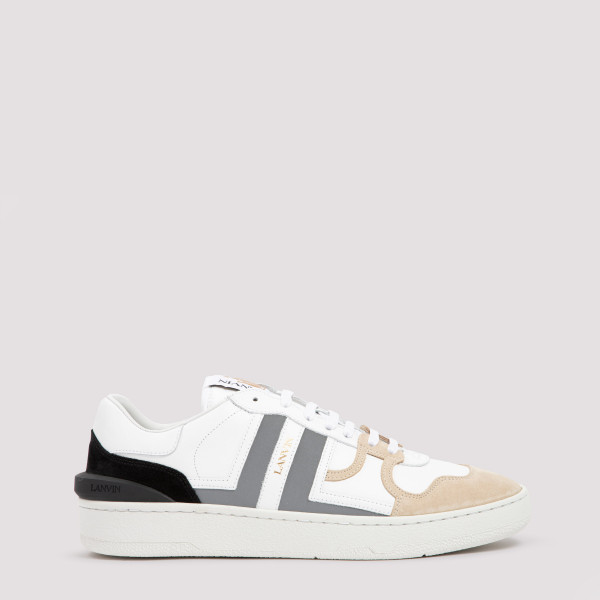 Lanvin Clay leather low-top...